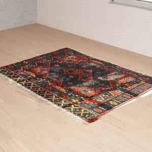 گلیم فرش های سه بعدی
